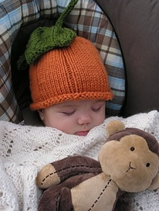 Pumpkin Hat by Susan Esser