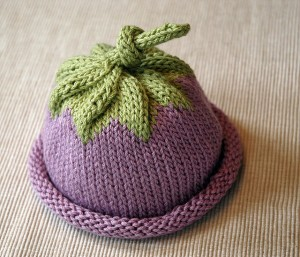 Berry Baby Hat by Michele Sabatier