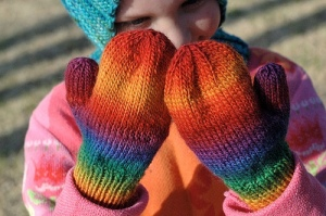 Basic Pattern for Childrens Mittens by Elizabeth Durand
