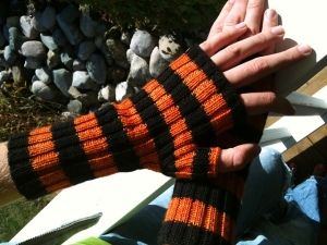 Basic Halloween Mitts by Allison van Zandt