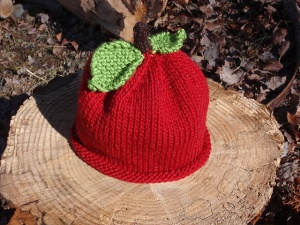 Apple Hat by Ariel Zusya Benjamin