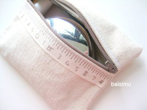 Multipurpose zipped purse by Baisimu