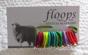Floops stitch markers