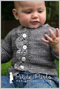 Cascade sweater pattern by Raya Budrevich