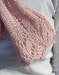 Free Pattern - Breast Cancer Awareness Pink Knit Scarf